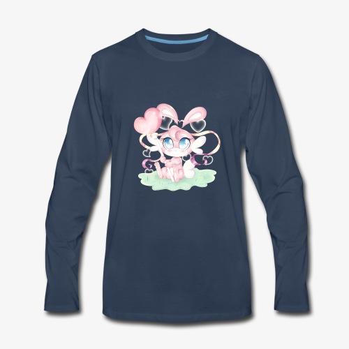 Cute lil bunny - Men's Premium Long Sleeve T-Shirt