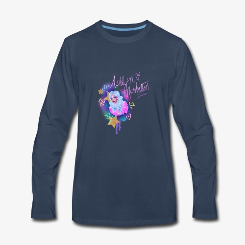 ashlyn manhattan t's - Men's Premium Long Sleeve T-Shirt