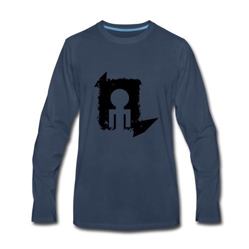 Black World - Men's Premium Long Sleeve T-Shirt