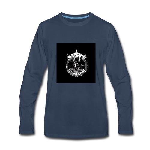 darkcharge button - Men's Premium Long Sleeve T-Shirt