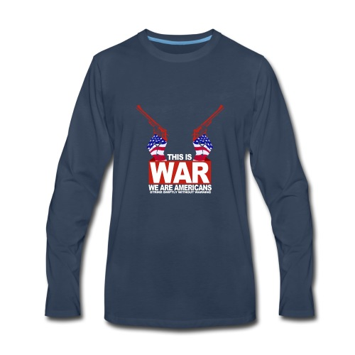 War USA - Men's Premium Long Sleeve T-Shirt