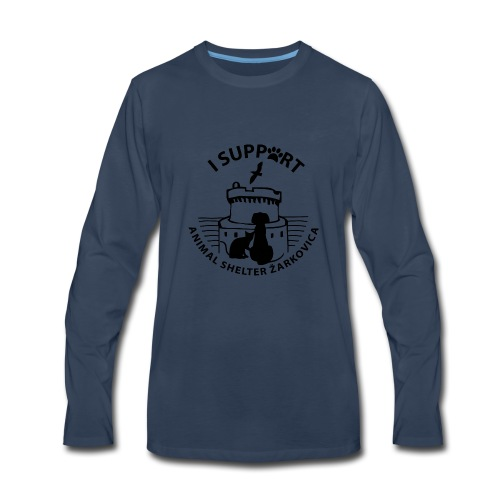 TshirtShelterZarkovicaDubrovnik - Men's Premium Long Sleeve T-Shirt