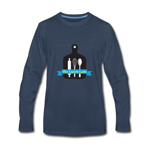 The Lunch Lady NYC - Men's Premium Long Sleeve T-Shirt