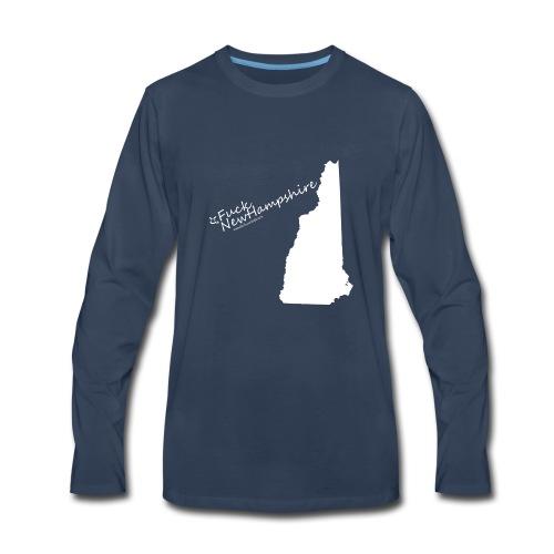 Fuck NewHampshire - Men's Premium Long Sleeve T-Shirt