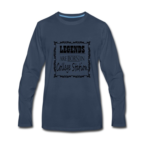 College Station - Men's Premium Long Sleeve T-Shirt