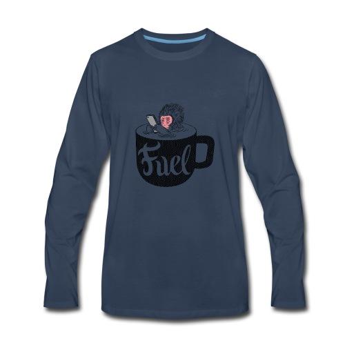 Coffee is Fuel - Men's Premium Long Sleeve T-Shirt
