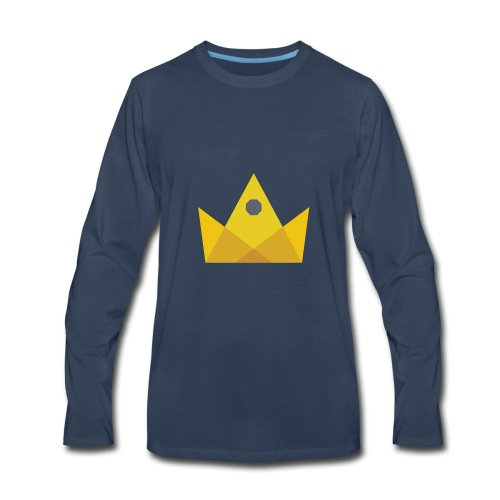 I am the KING - Men's Premium Long Sleeve T-Shirt