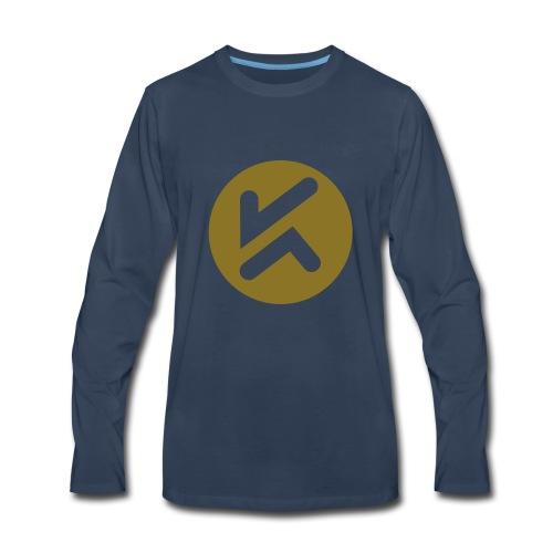 KCJ Media Tee - Men's Premium Long Sleeve T-Shirt
