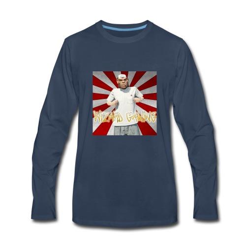 WizardGaming Radial - Men's Premium Long Sleeve T-Shirt