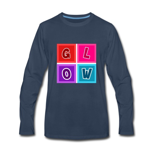 Glow Blocks - Men's Premium Long Sleeve T-Shirt