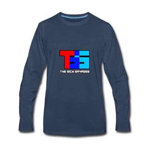 TSS Logo - Men's Premium Long Sleeve T-Shirt