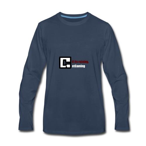 GetGaming or its Raining - Men's Premium Long Sleeve T-Shirt