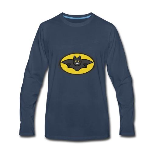 IAMBATMAN BEAM CHANNEL LOGO - Men's Premium Long Sleeve T-Shirt