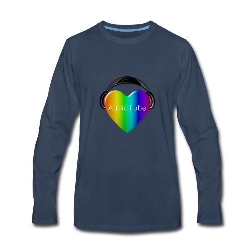 I LOVE AudioTube - Men's Premium Long Sleeve T-Shirt