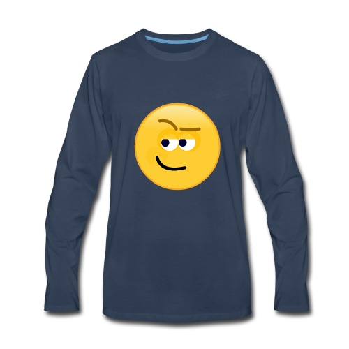 Smirk - Men's Premium Long Sleeve T-Shirt