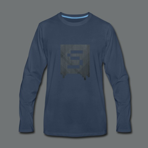 Isivisi Logo - Men's Premium Long Sleeve T-Shirt