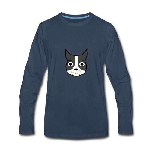 Boston Terrier - Men's Premium Long Sleeve T-Shirt