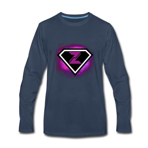 Zyanite Logo - YouTube - Men's Premium Long Sleeve T-Shirt