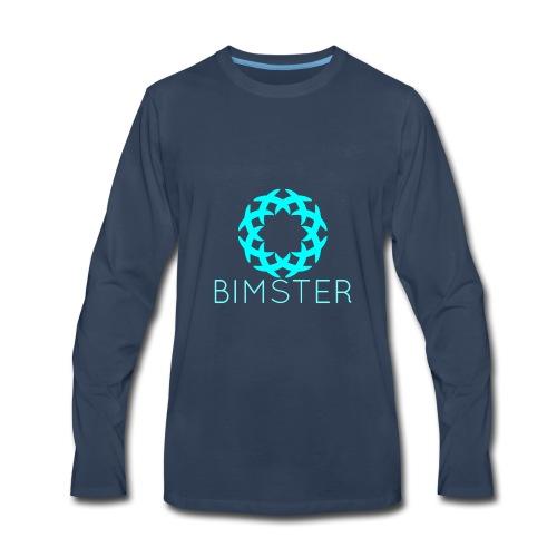 Bimster YouTube Channel Logo - Men's Premium Long Sleeve T-Shirt