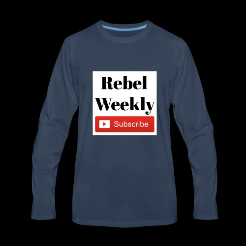 Rebel Weekly - Men's Premium Long Sleeve T-Shirt