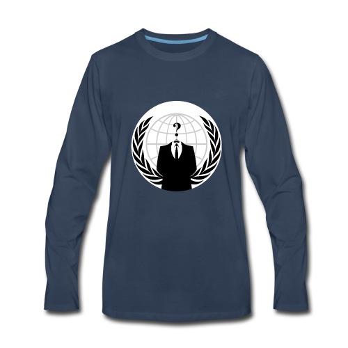 Anonymous Hacker - Men's Premium Long Sleeve T-Shirt