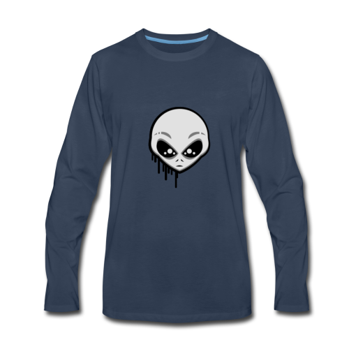 Martians From Mars Logo - Men's Premium Long Sleeve T-Shirt