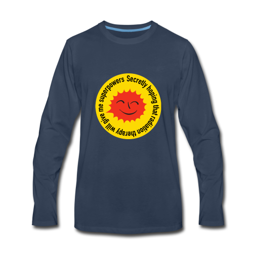 Radiation Superpowers - Men's Premium Long Sleeve T-Shirt