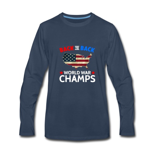 United States Patriot Champions - Men's Premium Long Sleeve T-Shirt