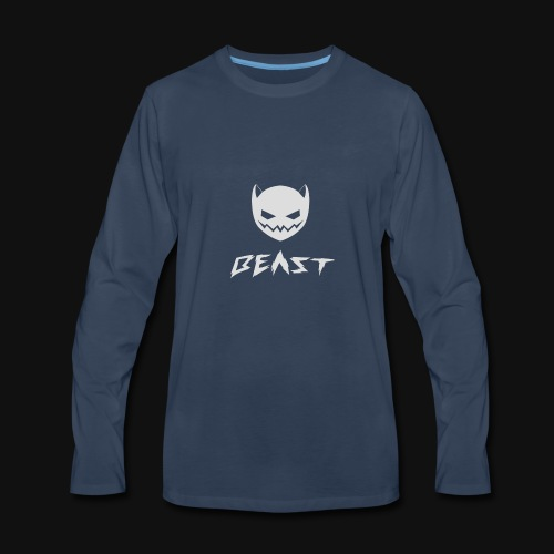 Beast by GlitchKen - Men's Premium Long Sleeve T-Shirt
