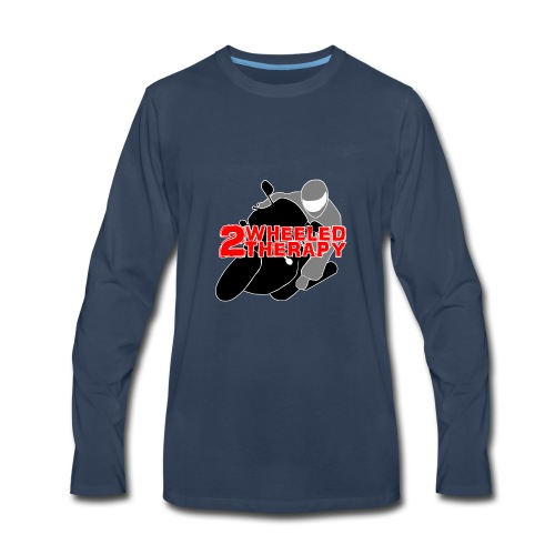 2 Wheeled Thereapy - Men's Premium Long Sleeve T-Shirt
