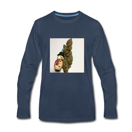 Christmas Tree Nugget - Men's Premium Long Sleeve T-Shirt