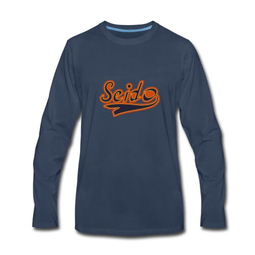 Ace of Diamond Seido Baseball T-Shirt Hoodies - Men's Premium Long Sleeve T-Shirt