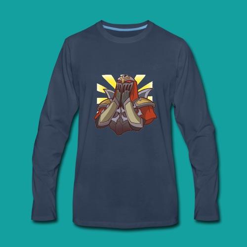 Zed Kawaii - Men's Premium Long Sleeve T-Shirt