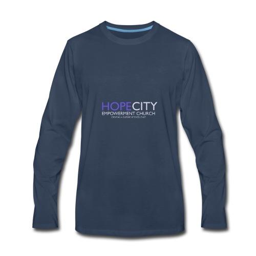 Hope City Empowerment Church - Men's Premium Long Sleeve T-Shirt