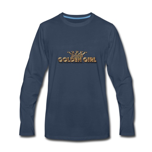 GoldenGirl - Men's Premium Long Sleeve T-Shirt