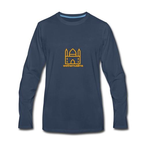 WeTheMuslims Official Merchandise - Men's Premium Long Sleeve T-Shirt