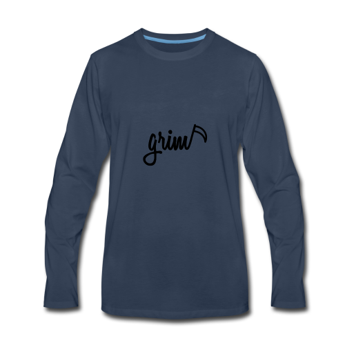 grim - Men's Premium Long Sleeve T-Shirt