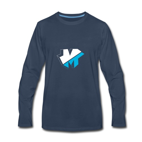 5050logo - Men's Premium Long Sleeve T-Shirt