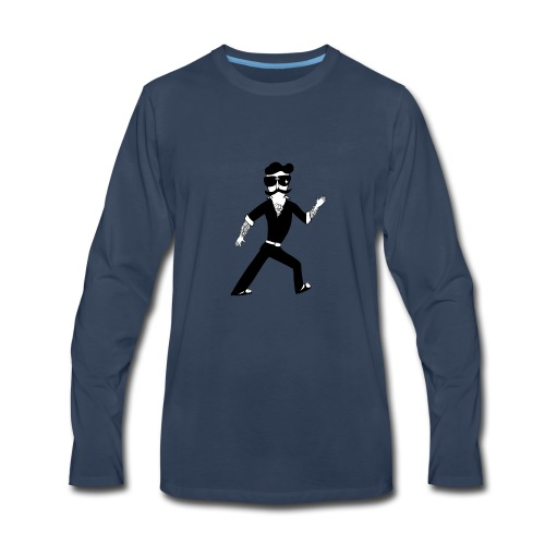 The Famous Mr Warrior - Men's Premium Long Sleeve T-Shirt