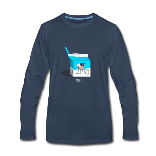 Milk - Men's Premium Long Sleeve T-Shirt