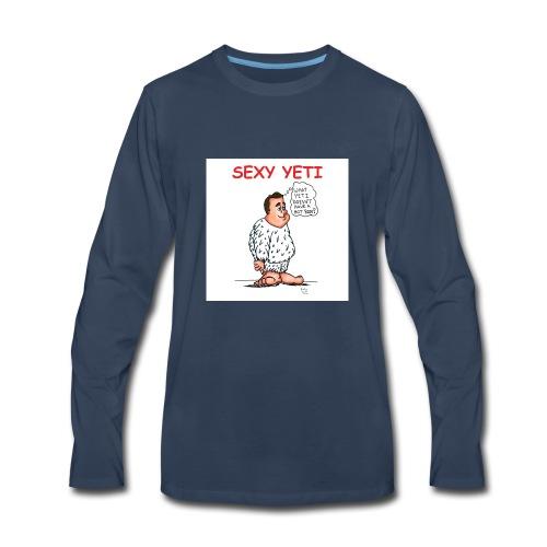 Sexy Yeti - Men's Premium Long Sleeve T-Shirt