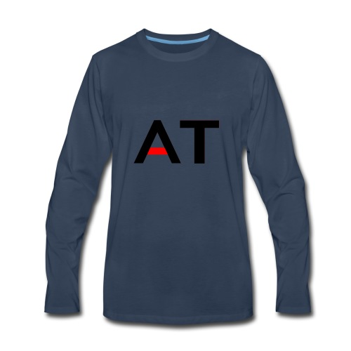 AdrenalineTech Logo Design - Men's Premium Long Sleeve T-Shirt