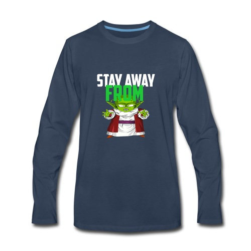 Stay Away From My D! - Men's Premium Long Sleeve T-Shirt