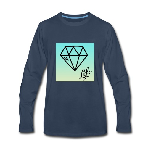 diamond life - Men's Premium Long Sleeve T-Shirt