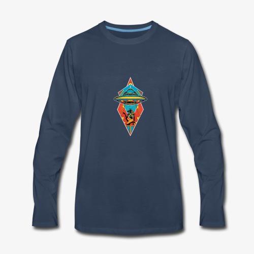 Space Pharaoh - Men's Premium Long Sleeve T-Shirt
