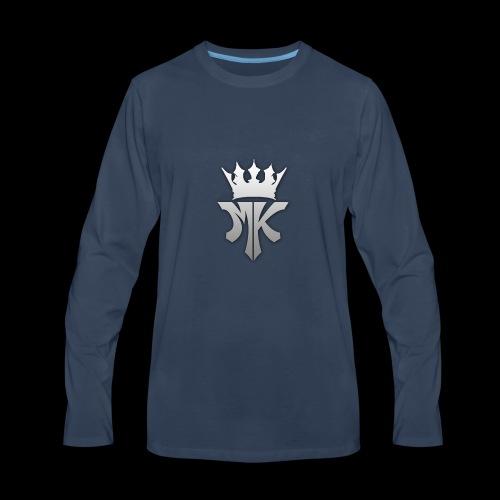 MK orignal logo gray - Men's Premium Long Sleeve T-Shirt