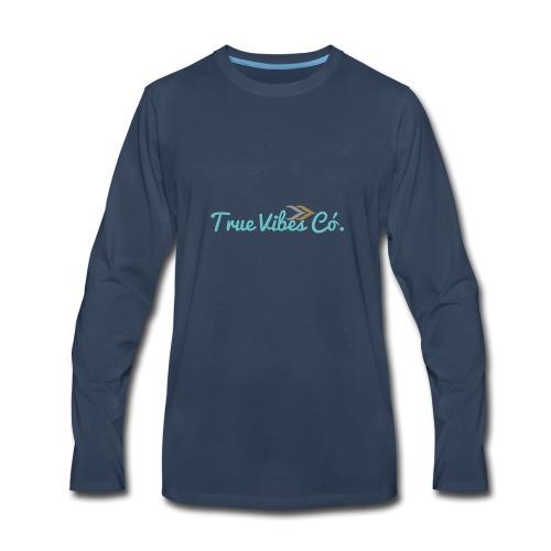 TrueVibes x Pastel Collection - Men's Premium Long Sleeve T-Shirt