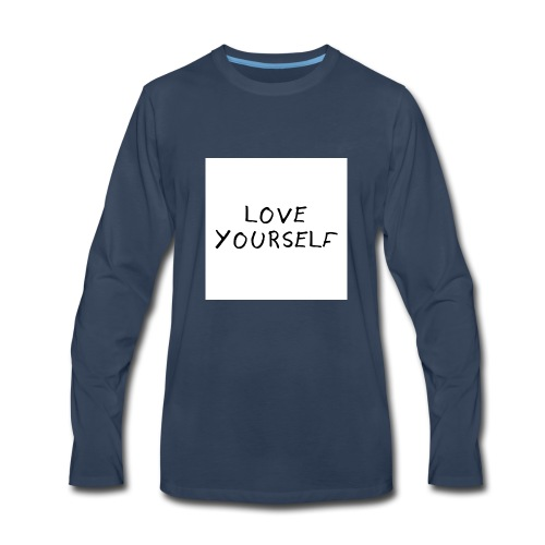 loveyourself - Men's Premium Long Sleeve T-Shirt