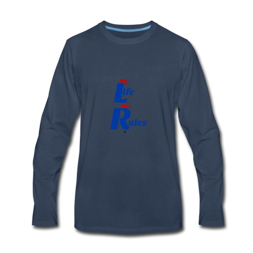 My Life My Rules - Men's Premium Long Sleeve T-Shirt