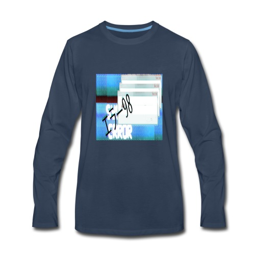 System Error - Men's Premium Long Sleeve T-Shirt
